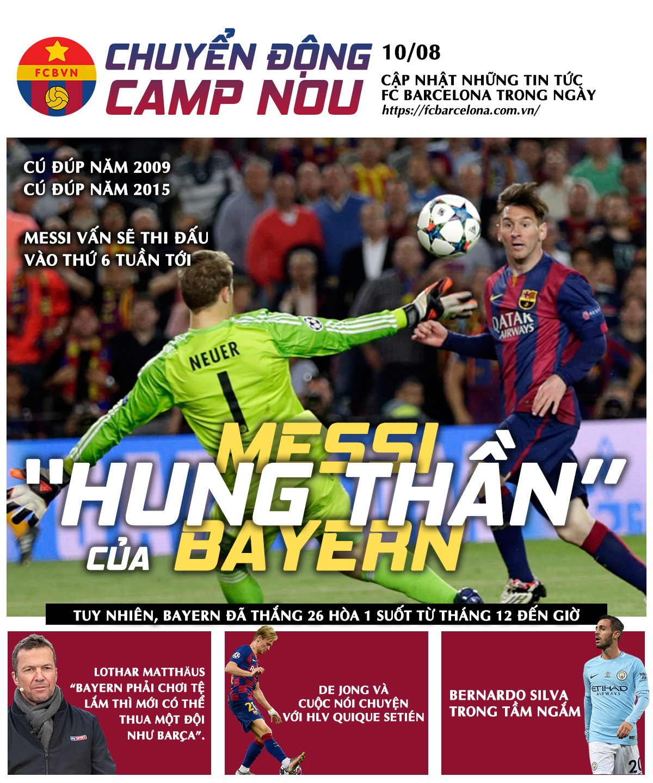 [Chuyển động Camp Nou] Tái ngộ Hùm Xám, Matthaus ngao ngán, Barça tuổi gì!