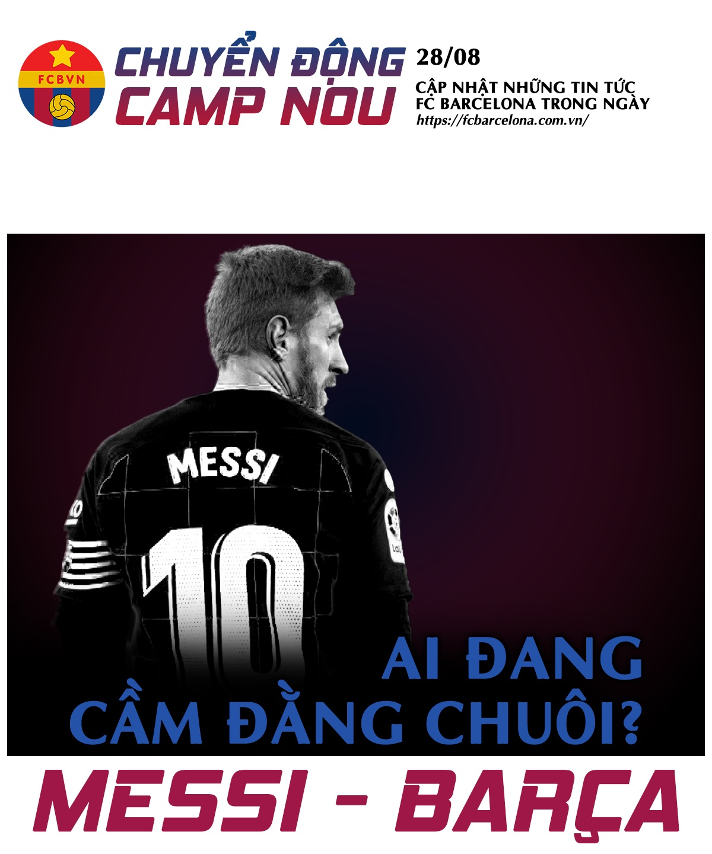 [Chuyển động Camp Nou] ngày 28-8-2020