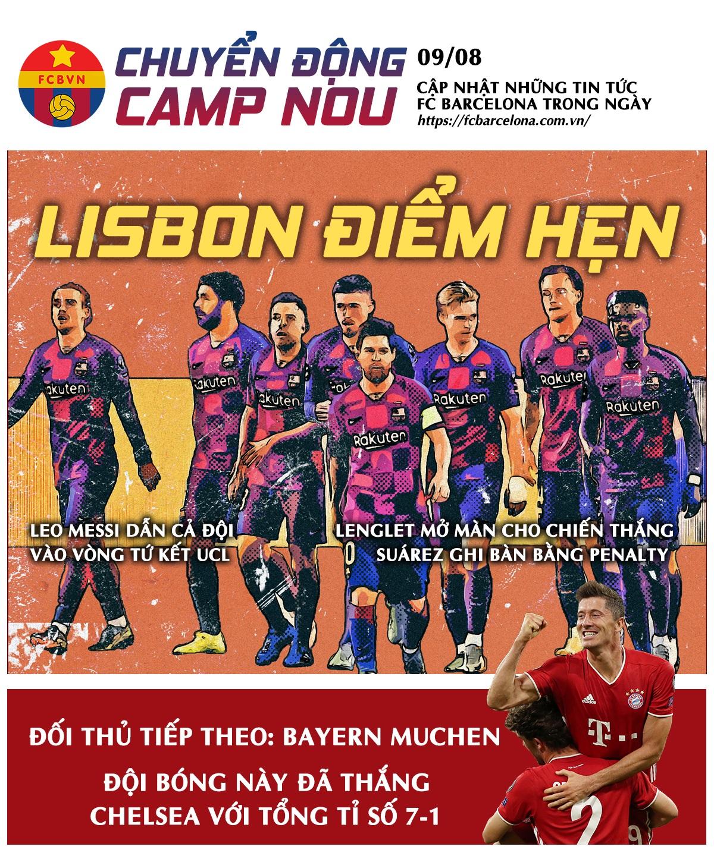 [Chuyển động Camp Nou] ngày 9-8-2020