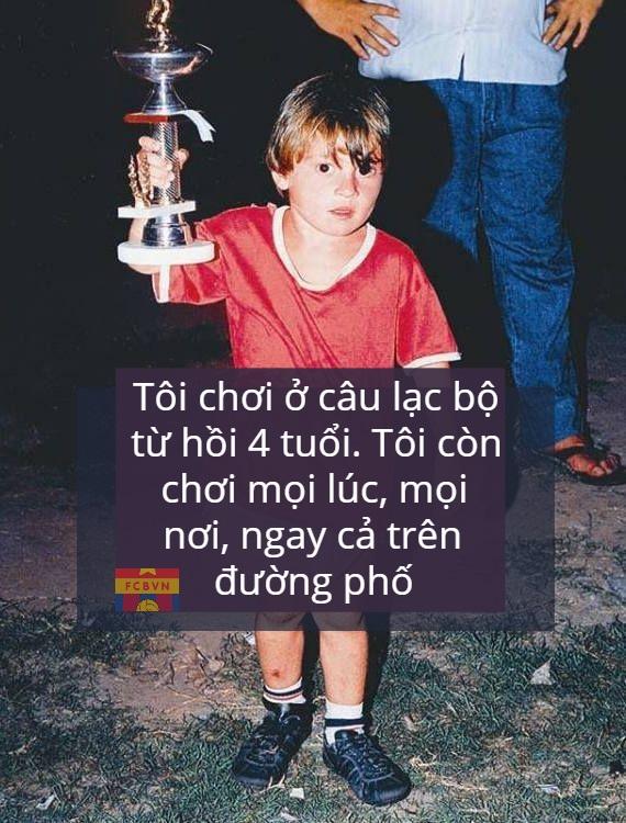 Messi 5 year