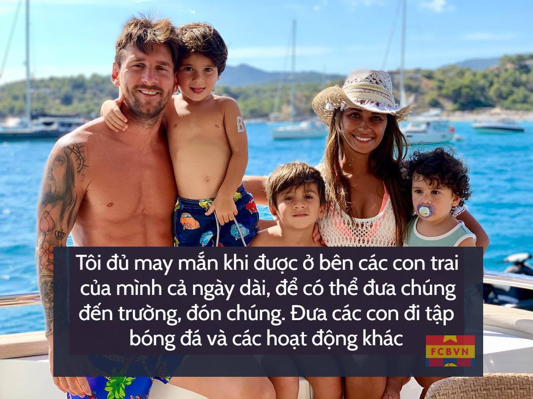 Messi familly